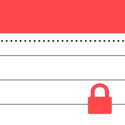 Secure Notepad iOS App