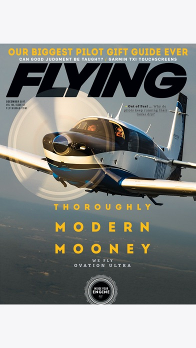 Flying Magazine review screenshots