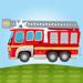 Ma petite caserne de pompier - Camion et pompiers