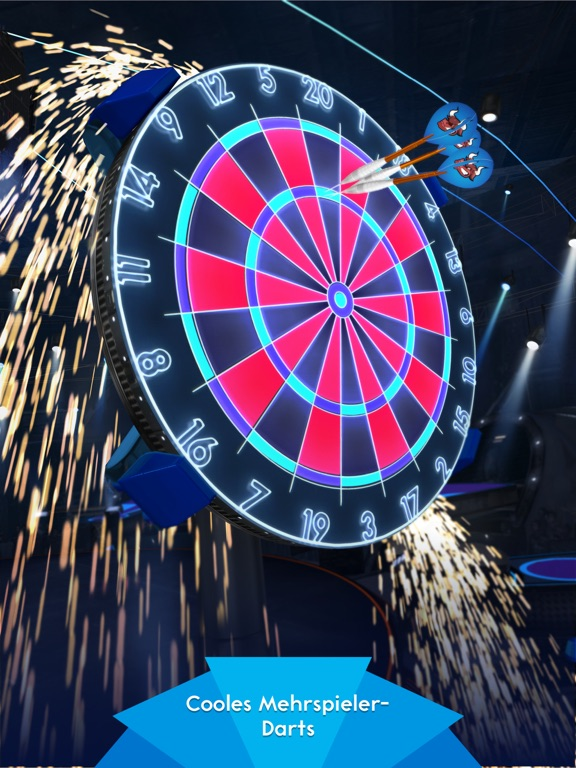 Darts of Fury iOS Screenshots