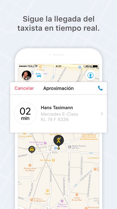 download mytaxi - La Taxi App apps 3