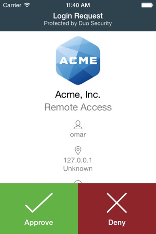 Duo Mobile screenshot 1