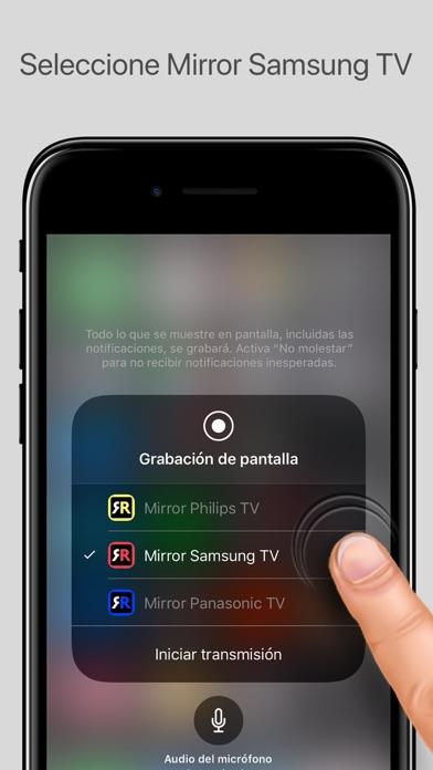 Mirror para samsung tv por airbeamtv bv for Mirror for samsung tv