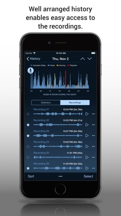 Prime Sleep Recorder screenshot two