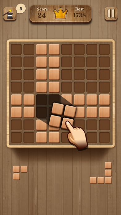 Wood Block Puzzle ~ Wood block puzzle wooden game app download android apk