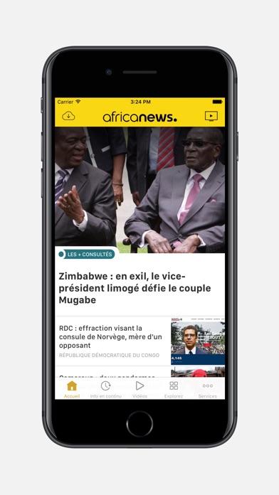 Africanews: l'actu 24/24Capture d'écran de 1