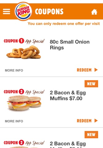 BURGER KING® App - New Zealand screenshot 3