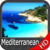 Mer Méditerranée GPS HD cartes