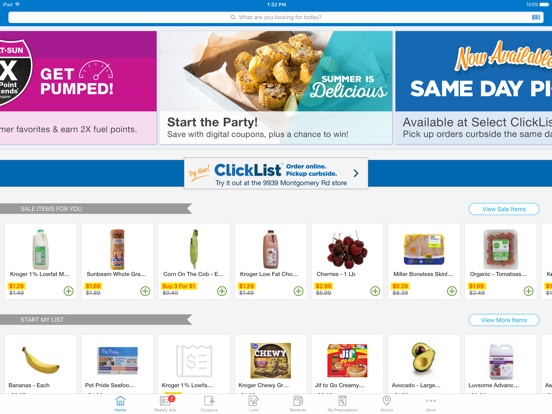 how to use kroger coupon app