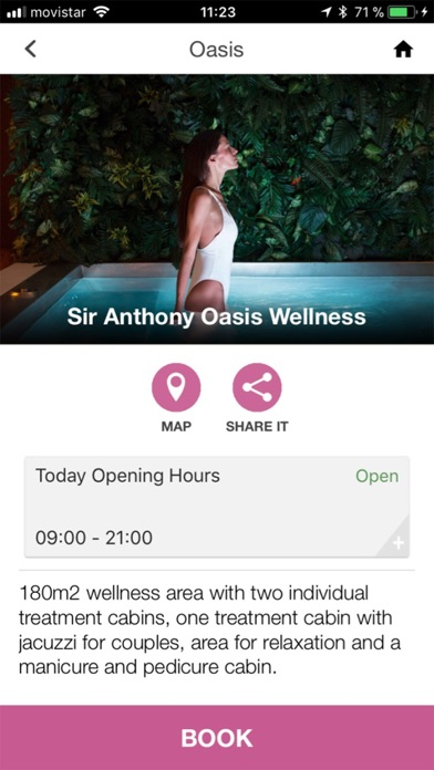 Screenshot for Sir Anthony Hotel in United States App Store