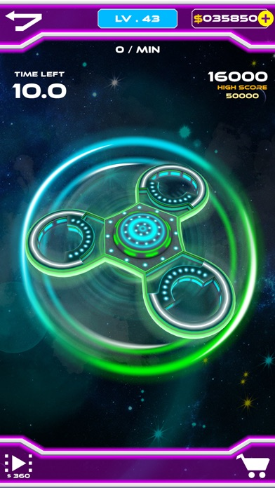 Fidget Spinner 3D. screenshot 3