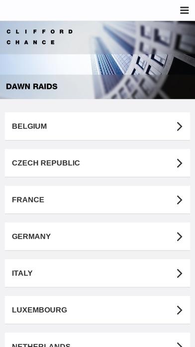 Clifford Chance - Dawn RaidCapture d'écran de 2