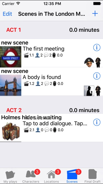 playwriting app