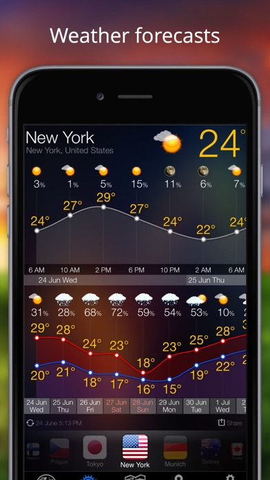 Weather Now Accurate Forecast Screenshot