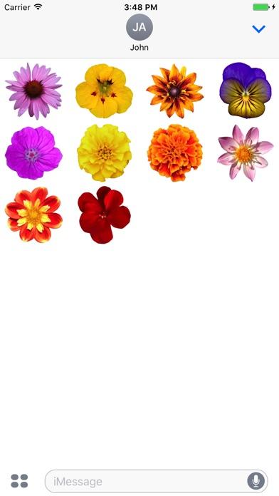 Flower Power Sticker Pack review screenshots