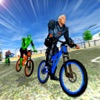 Spider Hero City Bicycle 3D