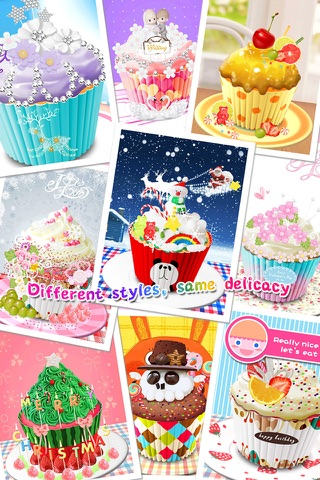 Cupcake Maker Salon screenshot 4
