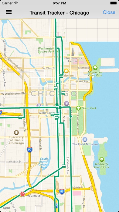 Transit Tracker Chicago on the App Store