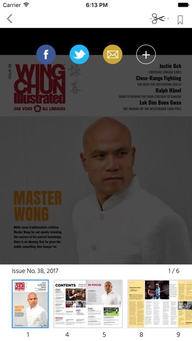 Wing Chun Illustrated... screenshot1