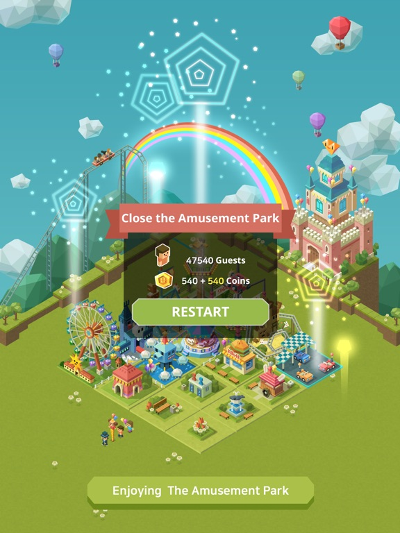 Screenshot 5 2048 Tycoon: Theme Park Mania