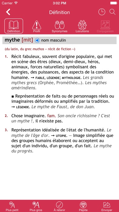 Dictionnaire Le Rober... screenshot1