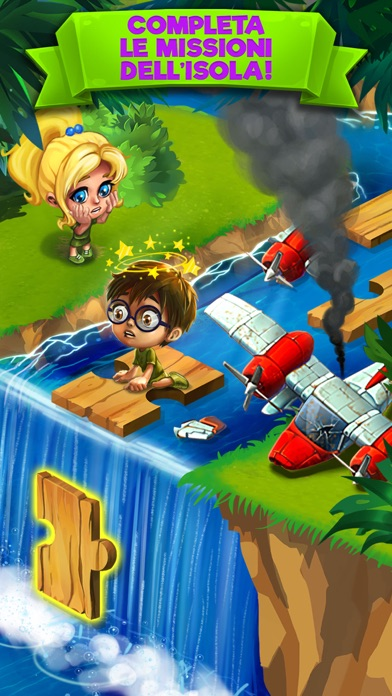 Screenshot of Island Experiment1