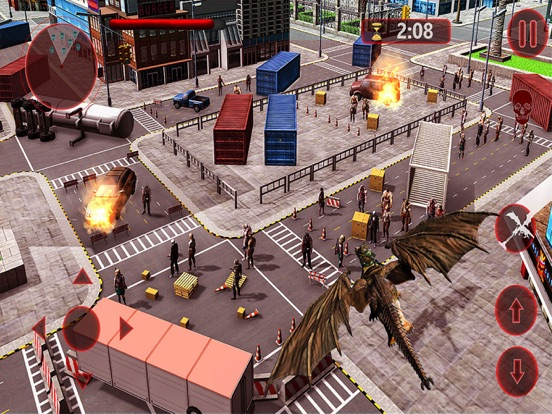 Дракон против Зомби - Выживани Скриншоты5