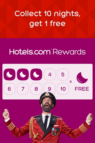 Hotels.com - Hotel booking screenshot 2
