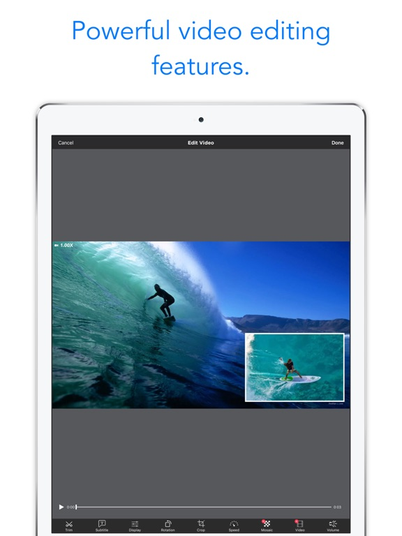 Perfect video movie maker on the app store ipad screenshot 2 ccuart Choice Image