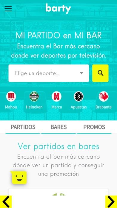 BARTY | Bartyapp screenshot 1