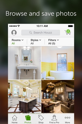 Houzz Interior Design Ideas screenshot 3