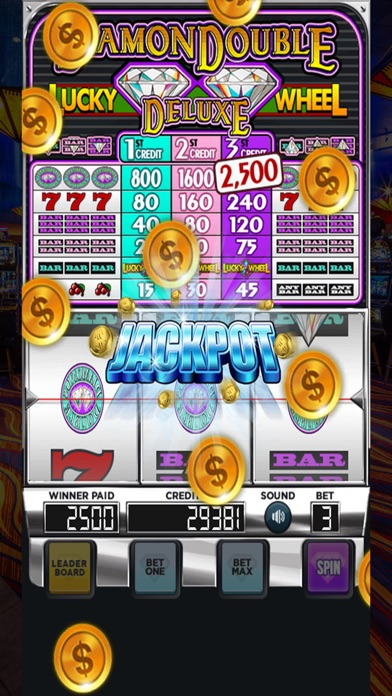 Stingy slot machine