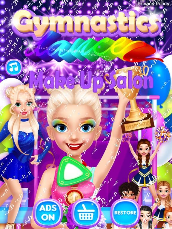 Gymnastics Dance Make Up Salon на iPad