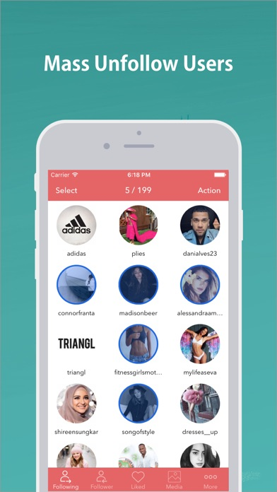 download Mass Unfollow for Instagram appstore review