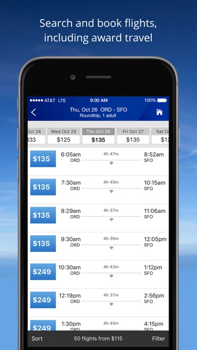 download United Airlines apps 1
