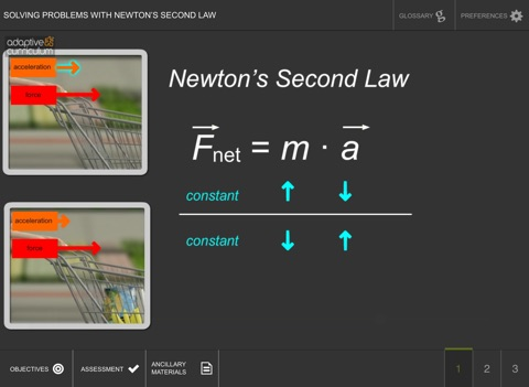 Solve with Newton's Second Law screenshot 2