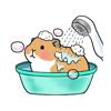 KIM KON KET - Cute Mouse Animated Stickers  artwork