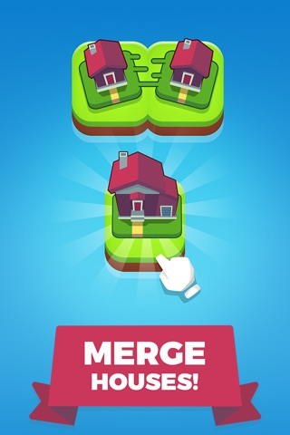 Merge Town! screenshot 1