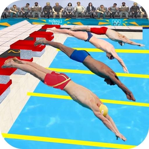 Swimming Pool Water Race