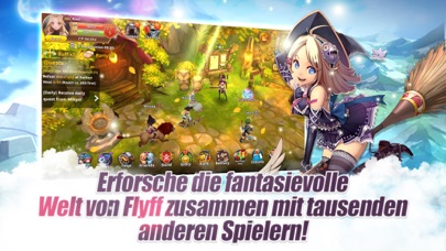 Flyff Legacy - Anime MMORPG iOS Screenshots