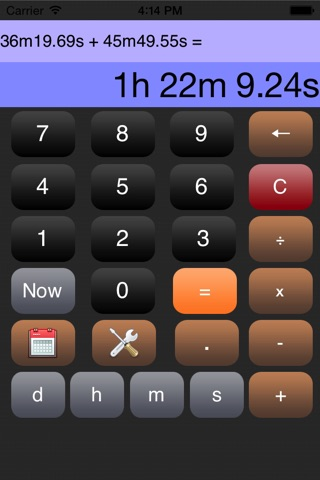 Time Calculator* screenshot 3