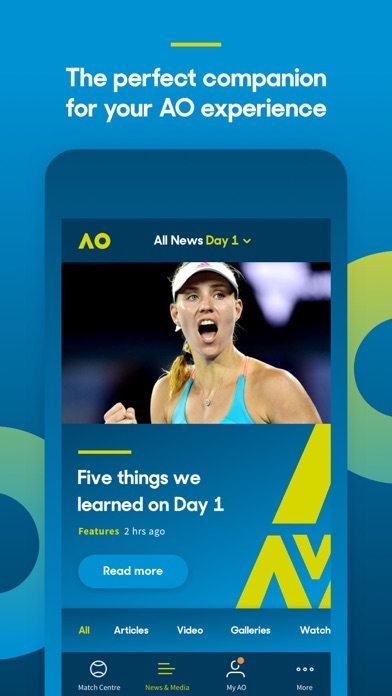 download Australian Open Tennis 2018 apps 0