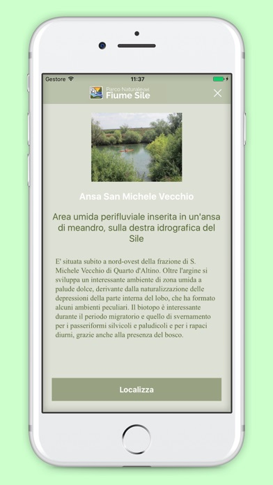 Screenshot of Parco del Sile4