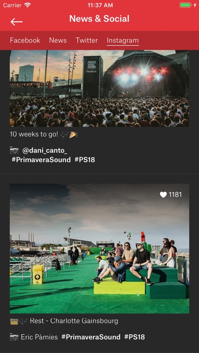 download Primavera Sound apps 3