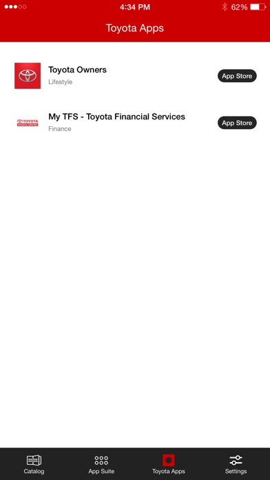 Toyota Entune™ 3.0 App Suite on the App Store