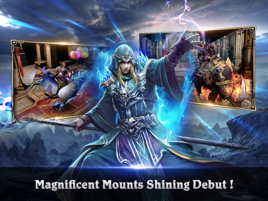 Clash For Dawn-3D PVP MMORPG для iPad