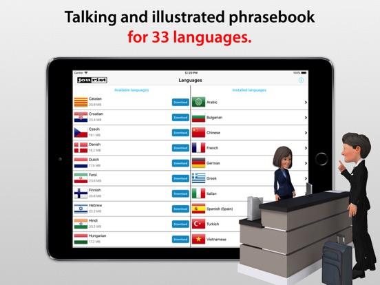 Travel Interpreter Phrasebook Screenshots