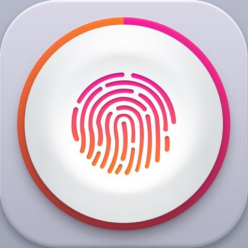 指紋相冊 - 隱私照片視頻鎖加密保險箱