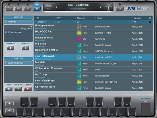 PPG Infinite Screenshot