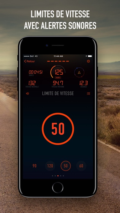 indicateur de vitesse 1 3 1 pour ios android windows phone. Black Bedroom Furniture Sets. Home Design Ideas